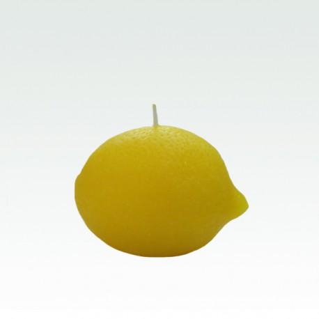 Lemon perfumed candle