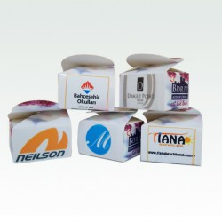Logo Printed Mini Box 15 Gr