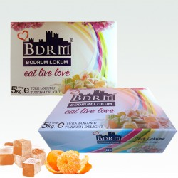 Bodrum Fruit Flavor Turkish Delight 5 Kg