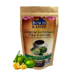 Bodrum Green Tangerine Turkish coffee 100 G 100 G