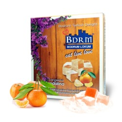 Bodrum Tangerine Turkish Delight