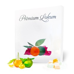 Premium Mixed Tangerine - Green Tangerine Turkish Delight