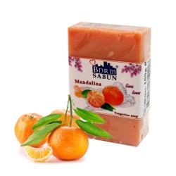 Bodrum Tangerine Olive Oil Soap (90 gr)