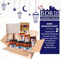 Bodrum Lokum Premium Mandalina Sepeti